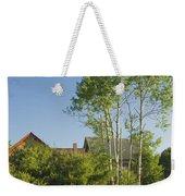 Maine Wild Lupine Flowers Weekender Tote Bag