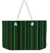 Matrix Green Weekender Tote Bag