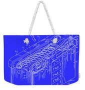 Medical Examining Table Patent 1974 Weekender Tote Bag
