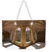 Medieval Monastery Cloister Weekender Tote Bag