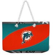Miami Dolphins Weekender Tote Bag