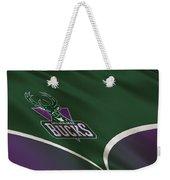 Milwaukee Bucks Uniform Weekender Tote Bag