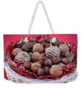 Mixed Holiday Nuts Weekender Tote Bag