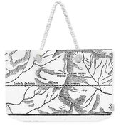 Mont Cenis Tunnel, 1871 Weekender Tote Bag