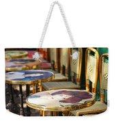 Montmartre Cafe Weekender Tote Bag