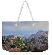 Montserrat Mountain Weekender Tote Bag