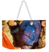 Moray Eel With Starfish Weekender Tote Bag