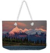 Mount Denali, Previously Known Weekender Tote Bag