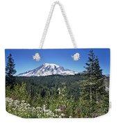 Mount Ranier Weekender Tote Bag
