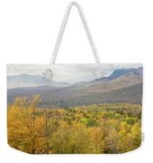 Mountains In Fall Mount Blue State Park Weld Maine Weekender Tote Bag