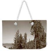 Mountainside Near Lake Tahoe Weekender Tote Bag