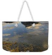 Mt. Rundle And Vermillion Lake Weekender Tote Bag