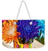 Multicolored Chrysanthemums  Weekender Tote Bag