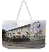 Mural In Shankill, Belfast, Ireland Weekender Tote Bag