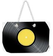 Music Record Weekender Tote Bag
