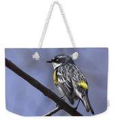 Myrtle Warbler Weekender Tote Bag
