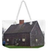 Nantucket's Oldest House Weekender Tote Bag