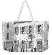 New York: Dispensary, 1868 Weekender Tote Bag