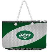 New York Jets Weekender Tote Bag