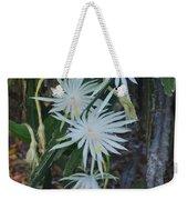 Night Blooming Cactus Weekender Tote Bag