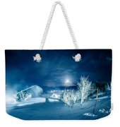 North Carolina Sugar Mountain Ski Resort Winter 2014 Weekender Tote Bag