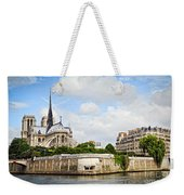 Notre Dame De Paris Weekender Tote Bag by Elena Elisseeva