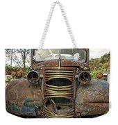 Old Junker Car Weekender Tote Bag