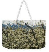 Orchard And Mount Hood, Oregon Weekender Tote Bag