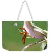 Oriental Lily Named Tiger Edition Weekender Tote Bag