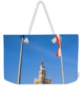 Palace Of Culture And Science In Warsaw Weekender Tote Bag