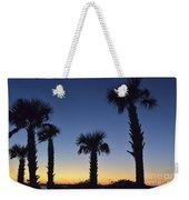 Carolina Palm Sky Weekender Tote Bag