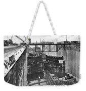 Panama Canal, 1910s Weekender Tote Bag