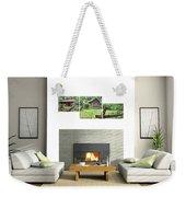 3-panel - Colonial Village Weekender Tote Bag