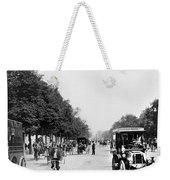 Paris Champs Elysees Weekender Tote Bag