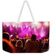 People On Music Concert Weekender Tote Bag