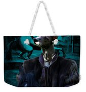 Peruvian Hairless Dog Art Canvas Print Weekender Tote Bag