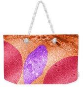 Platelet And Red Blood Cells, Tem Weekender Tote Bag