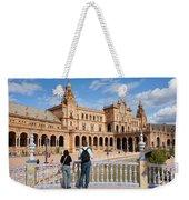Plaza De Espana Pavilion In Seville Weekender Tote Bag