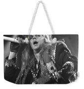Poison - Brett Michaels Weekender Tote Bag