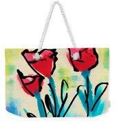 3 Poppies Weekender Tote Bag