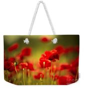 Poppy Dream Weekender Tote Bag by Nailia Schwarz