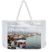Port Of Aegina Weekender Tote Bag