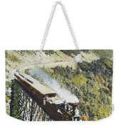 Railroad Bridge, C1870 Weekender Tote Bag