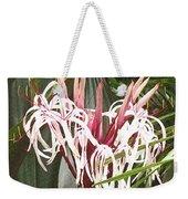 Queen Emma Crinum Lilies Weekender Tote Bag