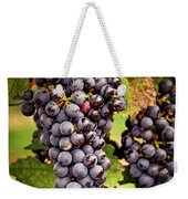 Red Grapes Weekender Tote Bag by Elena Elisseeva