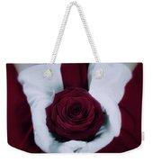 Red Rose Weekender Tote Bag by Joana Kruse