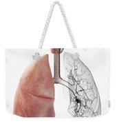 Respiratory System Weekender Tote Bag