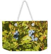 Ripe Maine Low Bush Wild Blueberries Weekender Tote Bag
