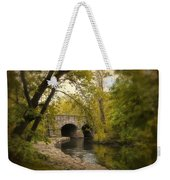 Riverbank Reflections Weekender Tote Bag