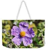 Rockrose Flower Weekender Tote Bag